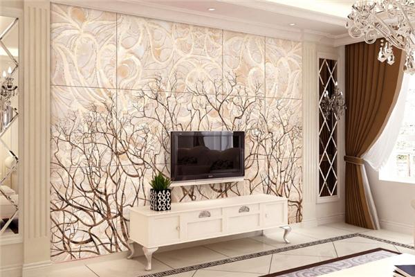 瓷砖背景墙