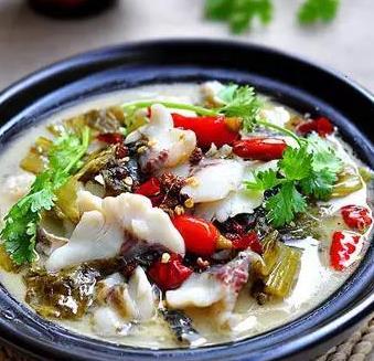 青素酸菜鱼火锅加盟图片
