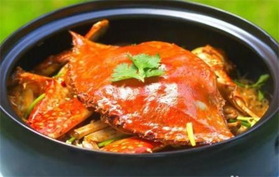 壹只蟹蟹煲饭店面效果图