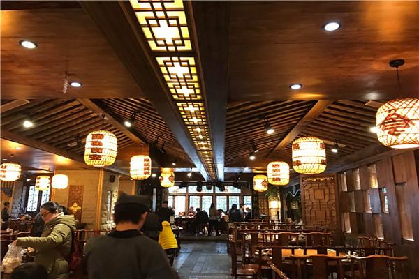 中餐厅装修风格