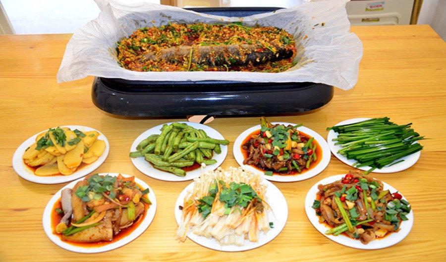 天竹渔村纸包鱼加盟