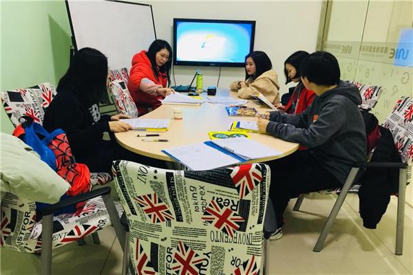 环球雅思少儿英语课堂展示