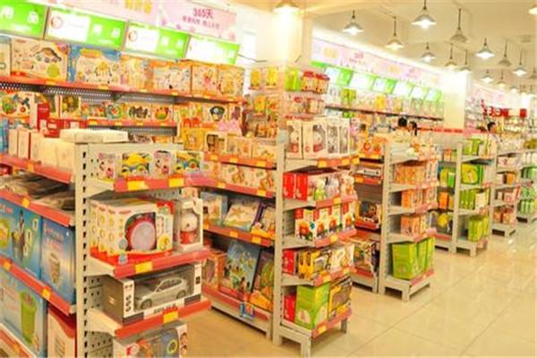 香港3861母婴店陈列有多种类型的商品