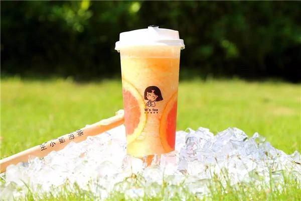 王小姐的茶招牌饮品展示