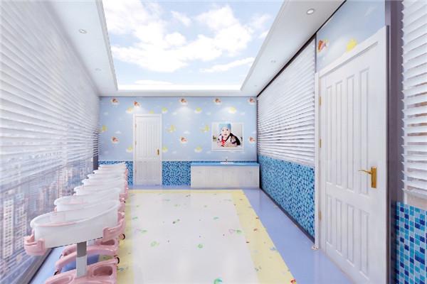 月子会所育婴室环境展示