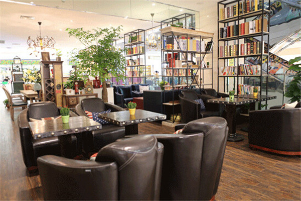 上岛咖啡店内景一览