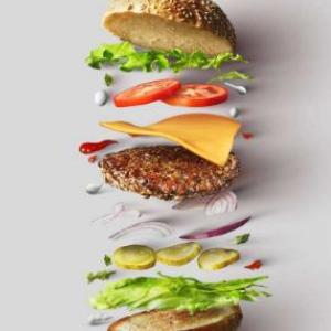 grinder 絞肉機漢堡