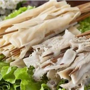 楊翔豆腐皮涮牛肚