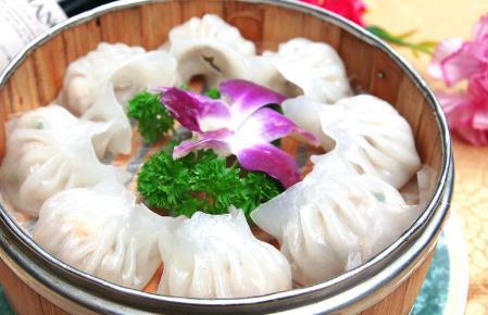 圣河灣蝦餃美食