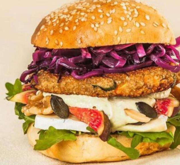 蔬力堡素食汉堡
