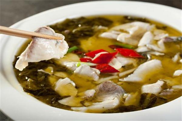 酸菜鱼餐品备受消费者喜爱
