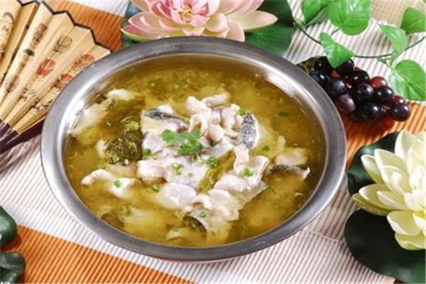 酸菜鱼是红遍大江南北的美食