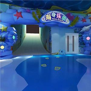 龙之梦室内游乐场