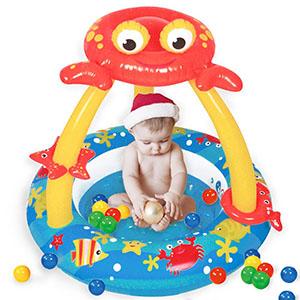 微寶之家嬰兒游泳池加盟圖片