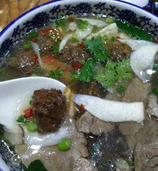 牛宫馆丸子汤