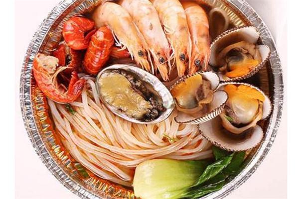 海鲜焖面店口味