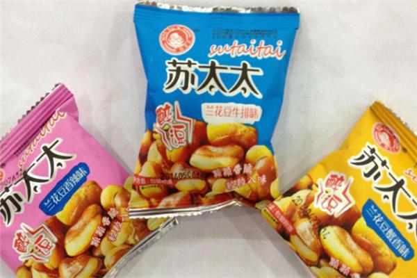 苏太太休闲食品加盟
