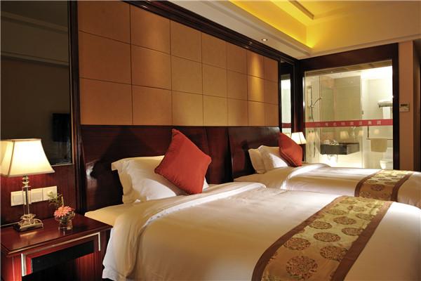 漫心酒店的客房干净、舒适