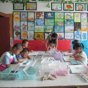 英贝诺儿童艺术加盟图片