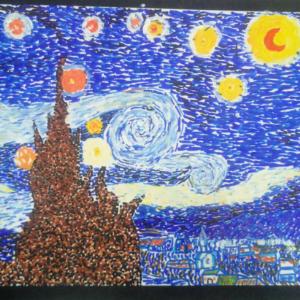 外星人梵高在线少儿美术加盟图片