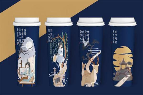 茶颜新中式茶饮包装