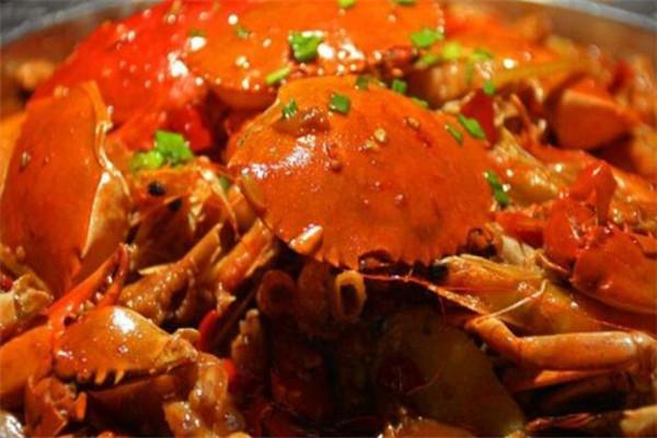 巴比酷肉蟹煲味道