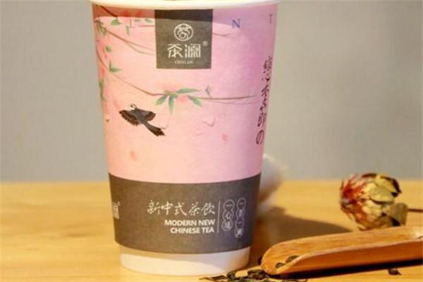 茶颜新中式茶饮可口