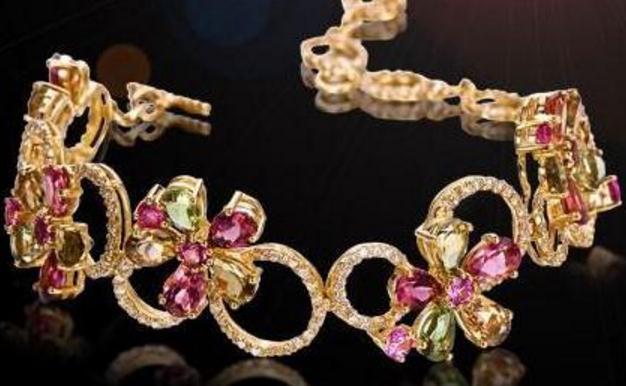 铂晶尔曼珠宝手链