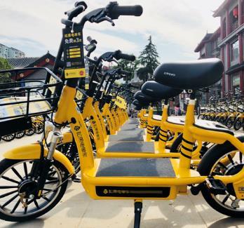 松果共享電單車加盟