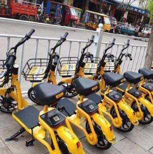 小黄共享电动车加盟