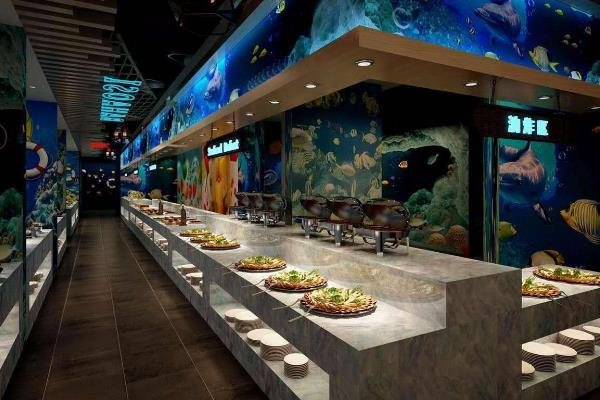 豪巴斯海鲜自助餐厅内景