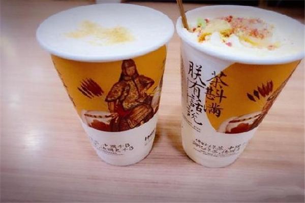 茶顏悅色奶茶加盟