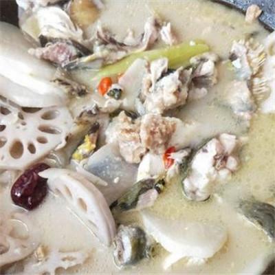 劉香記泉水蒸汽石鍋魚加盟圖片