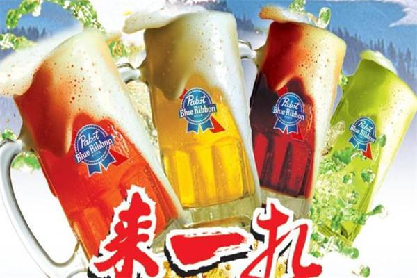 蓝带多彩扎啤加盟