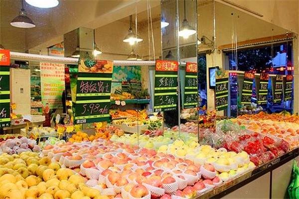 ai果束水果店加盟