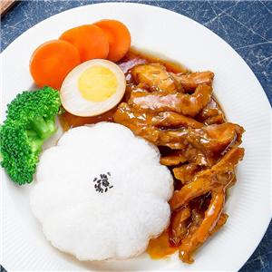谷稻一锅焖锅饭加meng图片