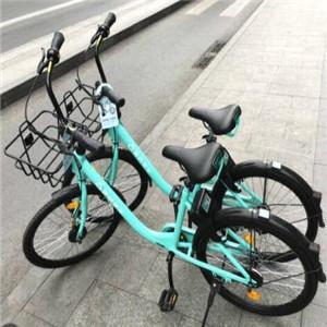 青桔共享单车加盟图片