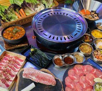 入火韩国烤肉加盟图片