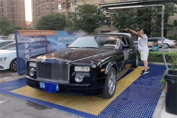 河马自助洗车加盟