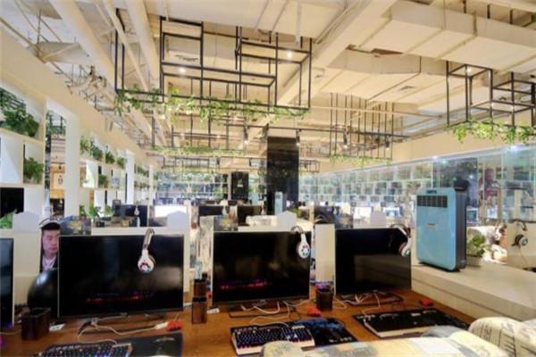绿树网咖加盟