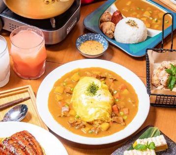 池奈·日式咖喱蛋包饭加盟图片