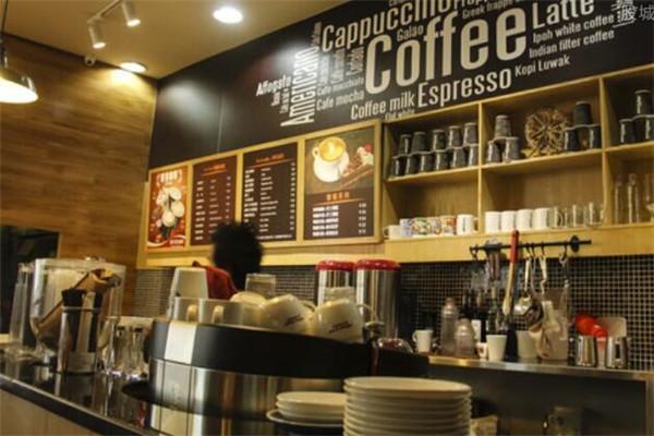 咖啡馆加盟费多少