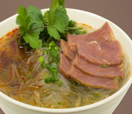 张蜀龙牛肉粉丝汤加盟图片