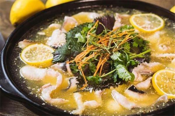 张大厨老坛柠檬鱼加盟