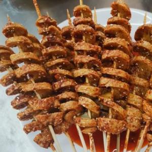吴三烤面筋加盟图片