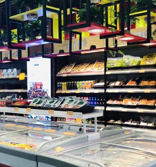 初一十五火锅食材超市加盟图片