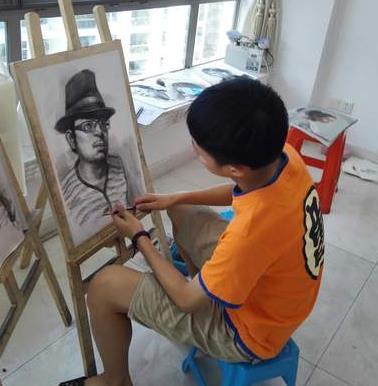 童画鹿美术加盟图片