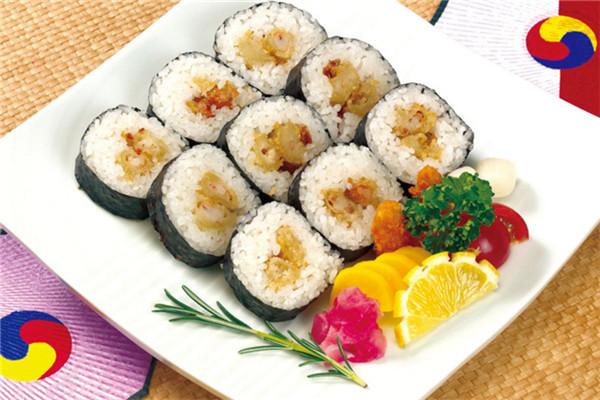 寿司是备受大众青睐的餐品
