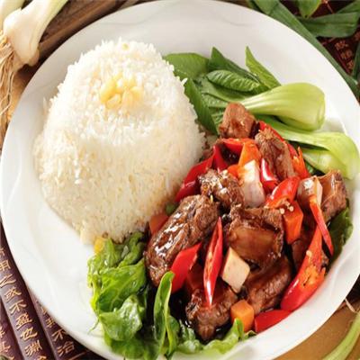 粮润中式快餐加盟图片