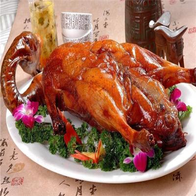 宋柏树果木烤鸭加盟图片